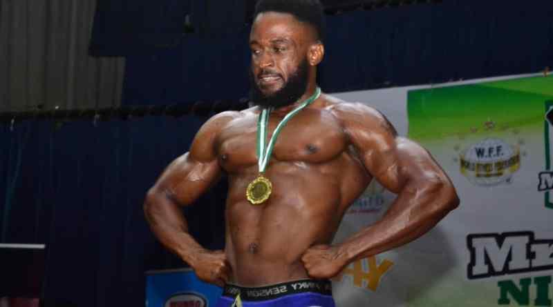 Chijioke Nwala- The Winner of Mr Flex Nigeria 2019 Light Weight