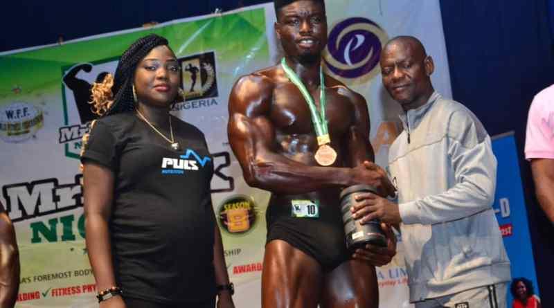 Meet Daniel Ogunleye, The Mr Flex Nigeria 2019 Middle Weight Gold Medalist