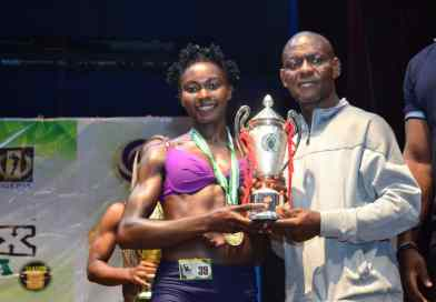 This is Perpetual Nwanna The Silver Medalist Miss Flex Fitness Figure 2019