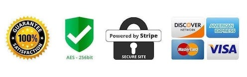 ssl secured powered by stripe