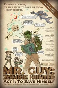 Mr. Guy: Zombie Hunter ACT 1 coming summer 2020