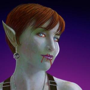 Mr. Guy editor and publisher, Lynsey g's zombified bio pic