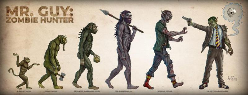 evolution orcs zombies mr. guy jayel draco