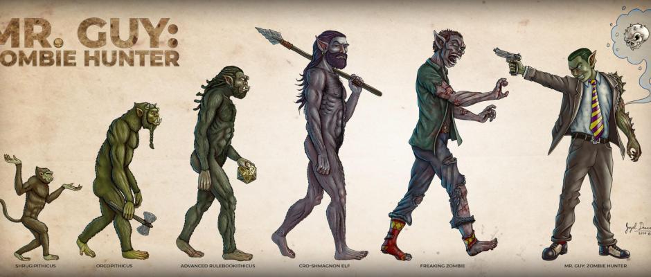 evolution orcs zombies mr. guy jayel draco