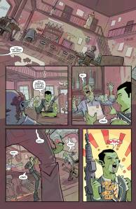full page of mr. guy zombie hunter by walter ostlie