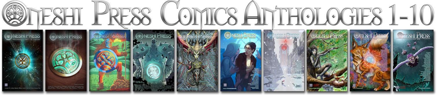 Oneshi Pressprogressive Comics Anthologies 1 - 10