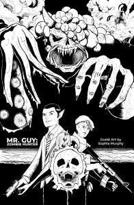 Mr. Guy: Zombie Hunter Guest Art by Sophia Murphy