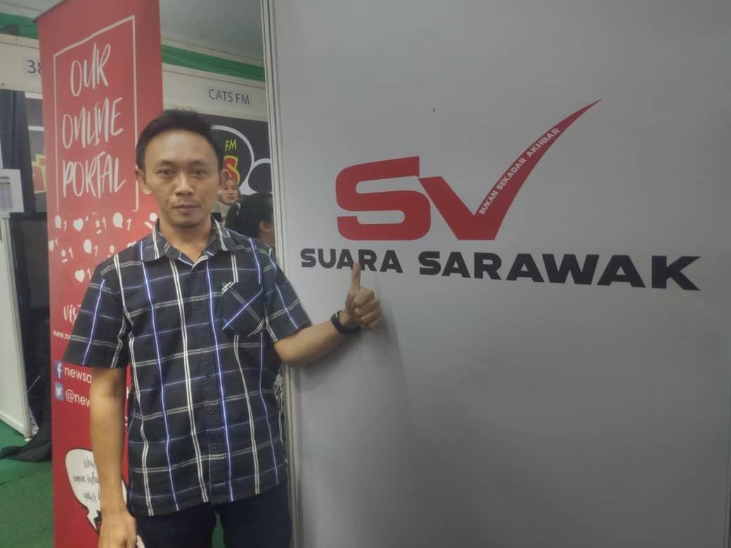 Menjadi Penulis Sambilan Akhbar Suara Sarawak