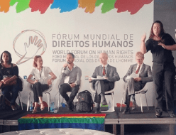 The International Progress of LGBT rights panel