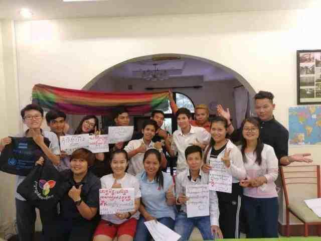 LGBTI economic empowerment workshop in Cambodia