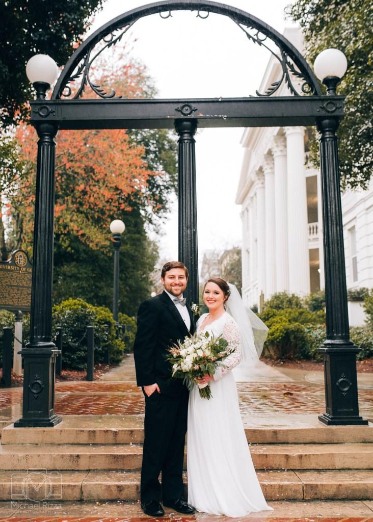 UGA Wedding    Kelsi & Brandon