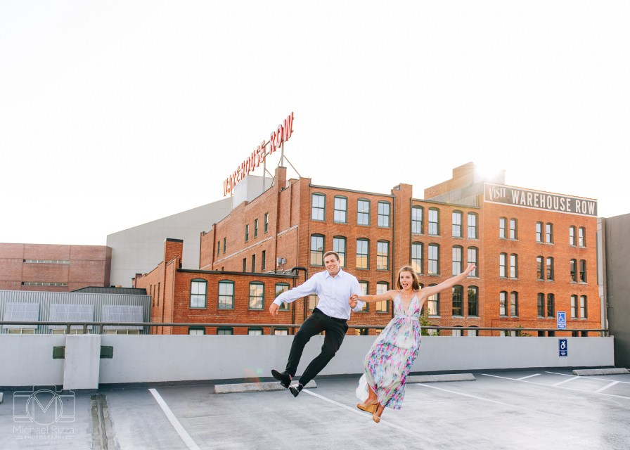 Downtown Chattanooga Engagement Photos