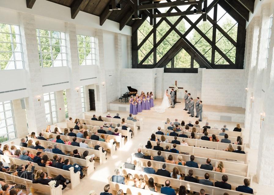 The Chapel on McEver Wedding Ceremony