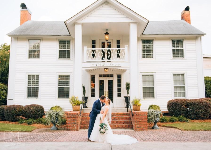 The Inn at Oak Lawn Farms Wedding Photo