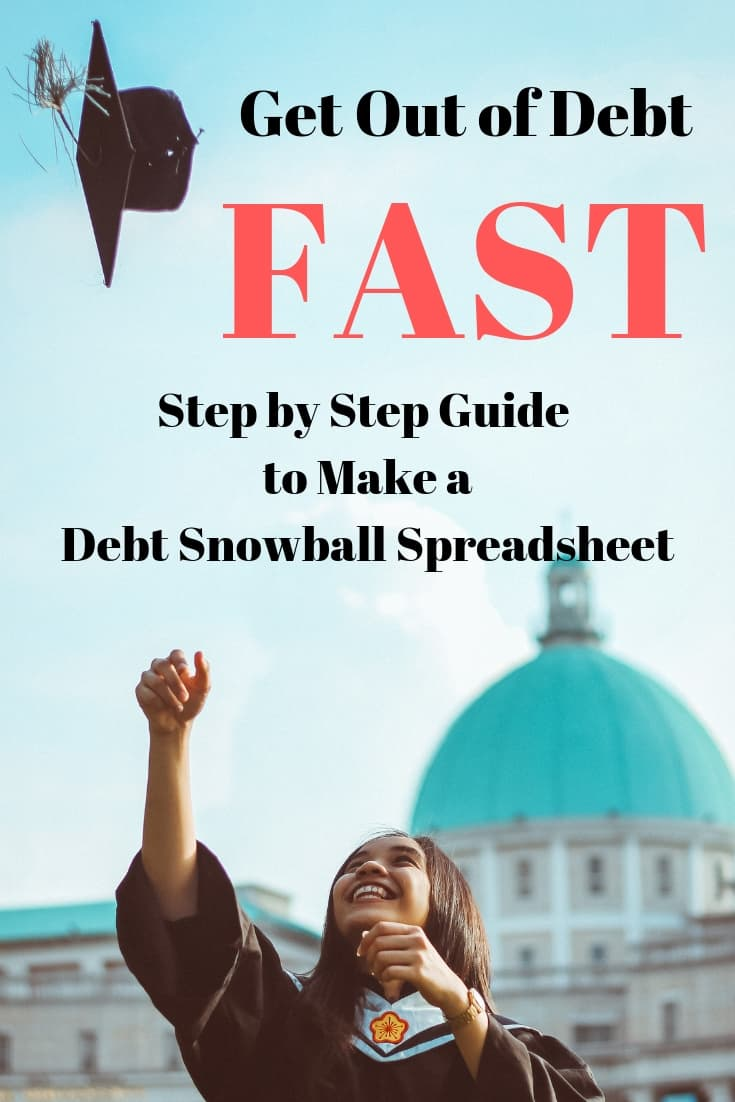 Debt Snowball Spreadsheet: How to Make One Today