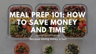 Meal Prep 101: How to Save Money and Time. I finally found the tips I need to learn how to meal prep! I hate cooking every night. I'm exhausted when I get home from work and preparing a big meal is the last thing I want to do. This guide is AMAZING! Not only do we save time cooking now, we save hundreds of dollars a month by planning ahead. I highly recommend meal prep!