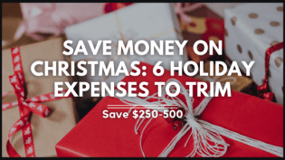 Save money on christmas featured image