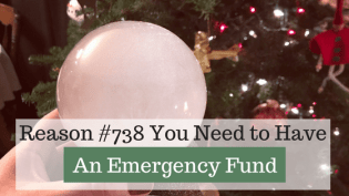 """Are you prepared for a financial emergency? 738 reasons why you need an emergency fund. Emergencies are going to happen. The big question you need to answer is, """"how prepared are you when an emergency DOES strike?"""" I recommend starting with $1,000 in your emergency fund and then expanding to cover bigger emergencies."""
