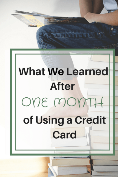 What We Learned After One Month of Using a Credit Card for Travel Hacking