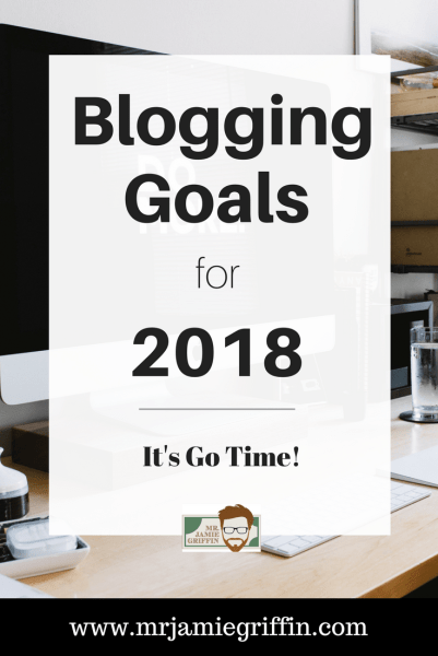 Do you have blogging goals for 2018?