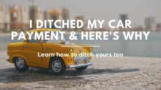 Save money with no car payment title image