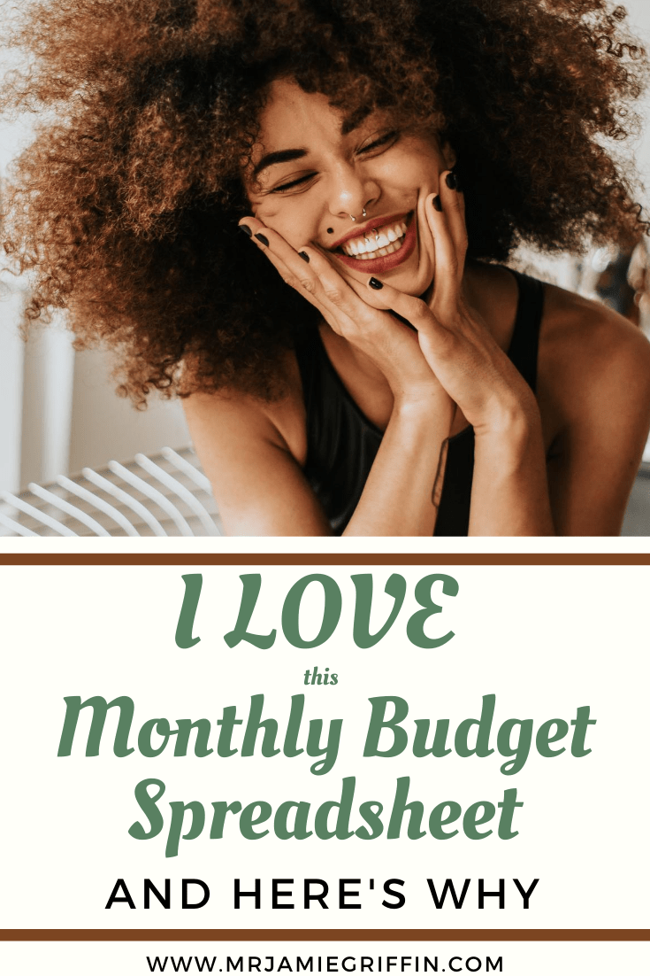 I'm Completely in LOVE with this Monthly Budget Spreadsheet! And Here's Why.
