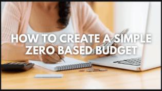 zero based budgeting title image