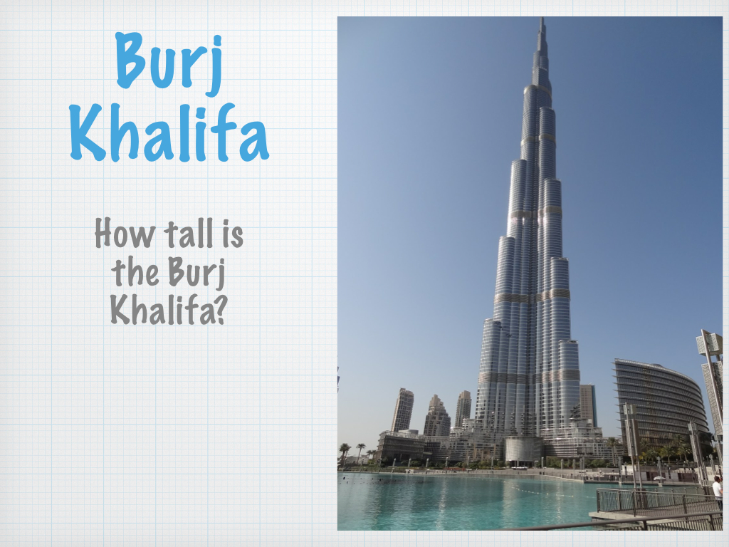 Tallest Buildings In The World Lesson