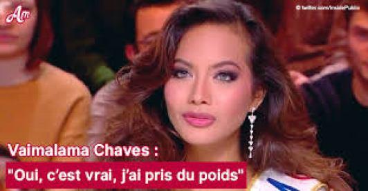 Vaimalama Chaves Poids
