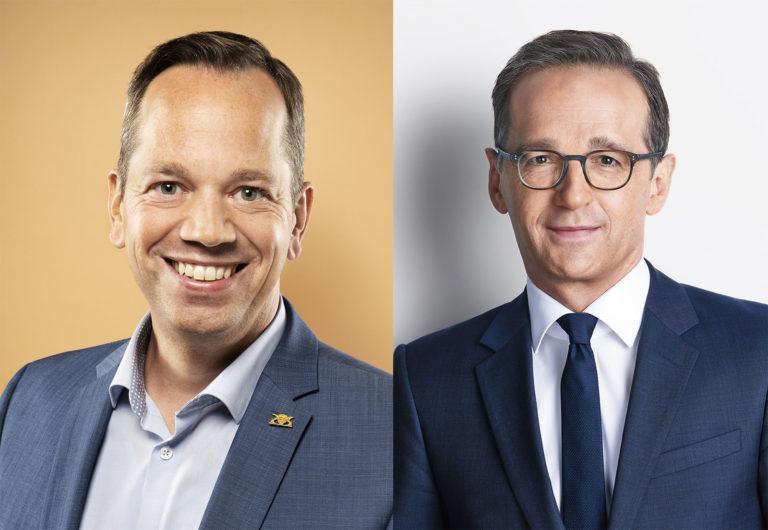 Heiko Maas Augenzwinkern Krankheit