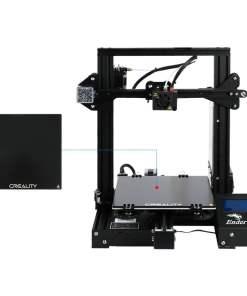 Imprimanta 3D Creality Ender 3X, pat de sticla cu adeziune superioara