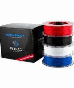 EasyPrint PLA Value Pack Standard - 1,75 mm - 4x 500 g (Total 2 kg) - Alb, negru, roșu, albastru