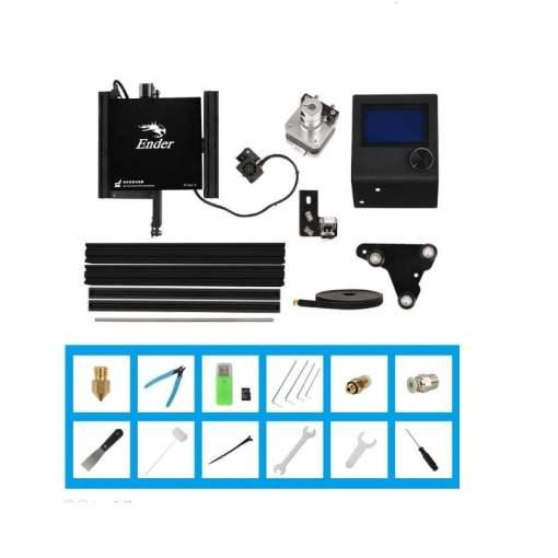 Imprimanta 3D Creality Ender 3, produs oficial, tehnologie FDM, PLA, TPU, ABS