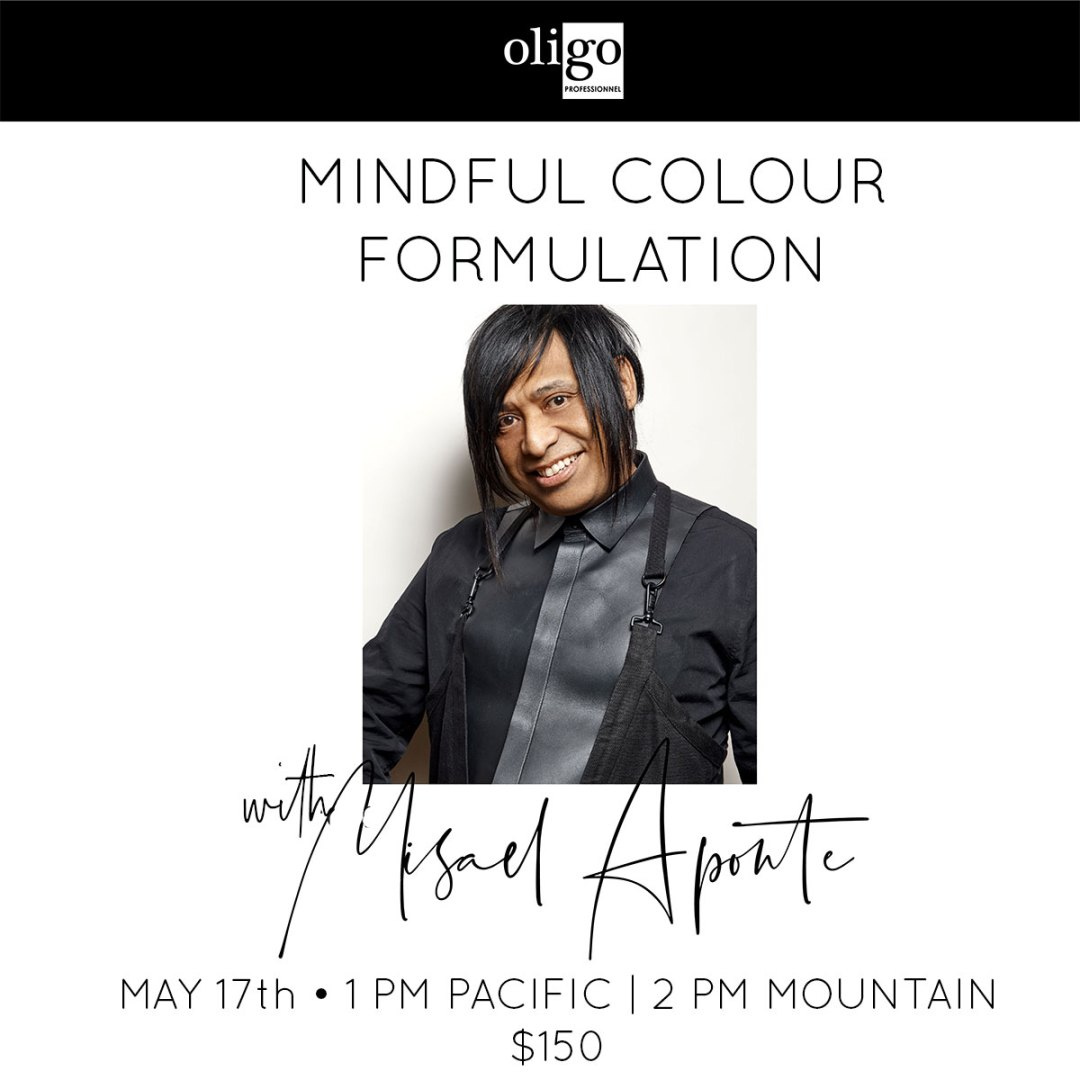 mindful color formulation with misael aponte