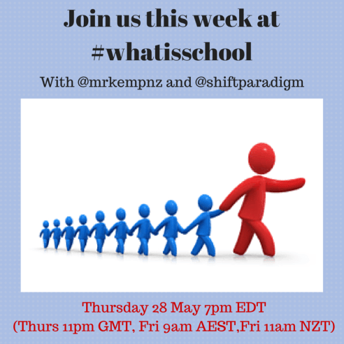 Join us this week at _whatisschool