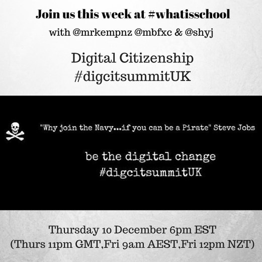 Join us at #whatisschool #digcitsummitUK