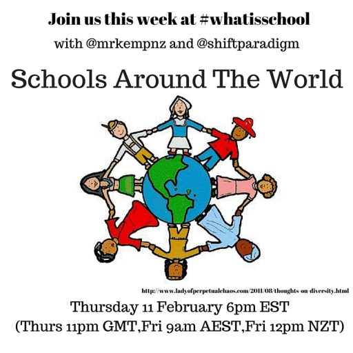 Join us at #whatisschool diversity