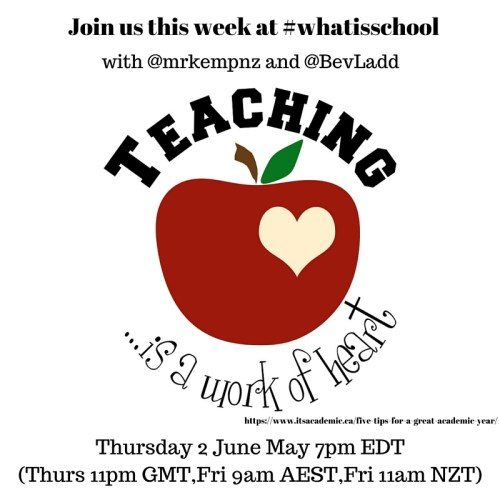 Join us at #whatisschool summing up an amazing year