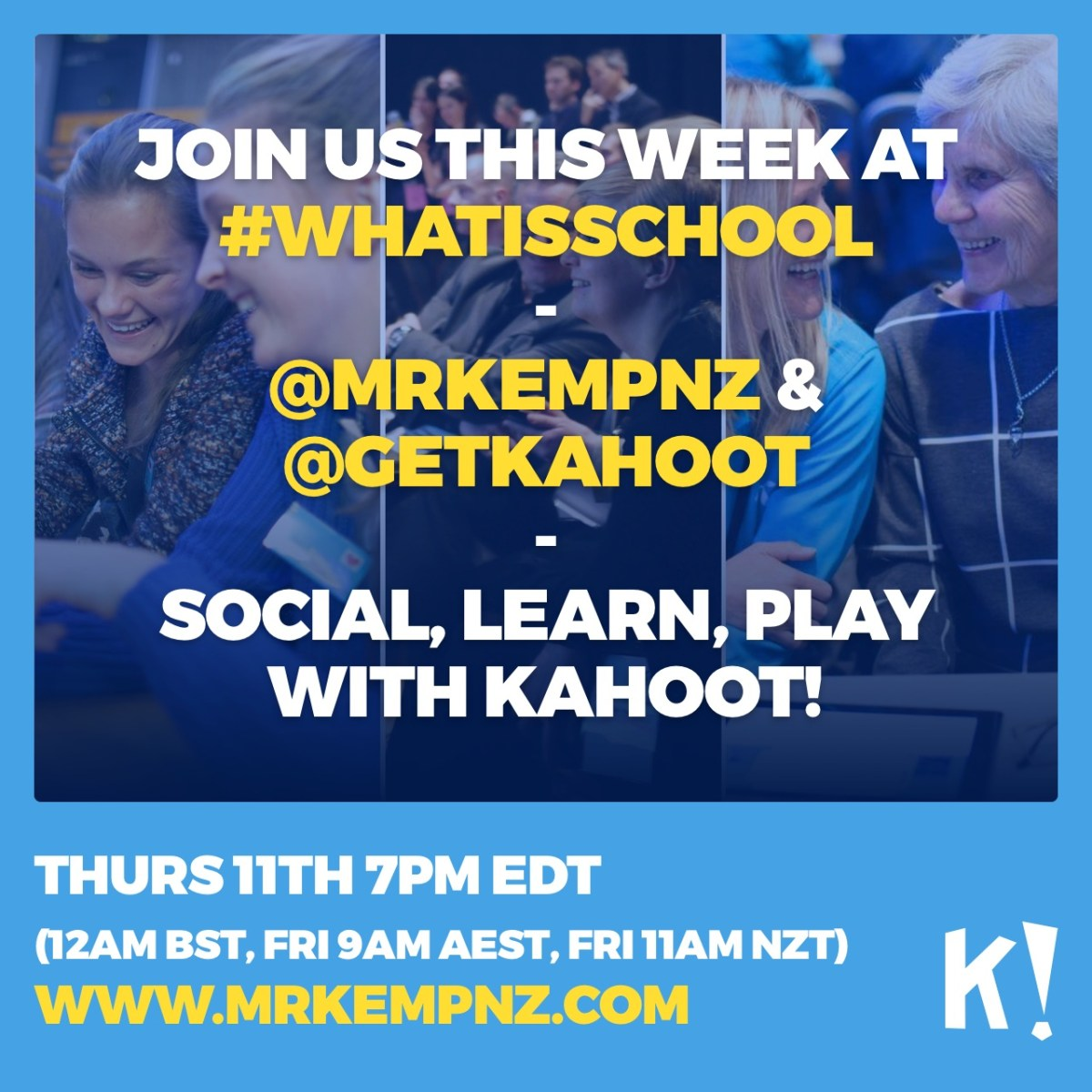What Is School Social Learn And Play Kahoot