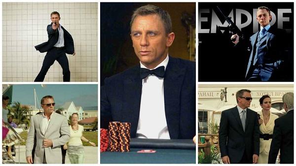 Style Guide The Evolution Of Daniel Craig James Bond Suits