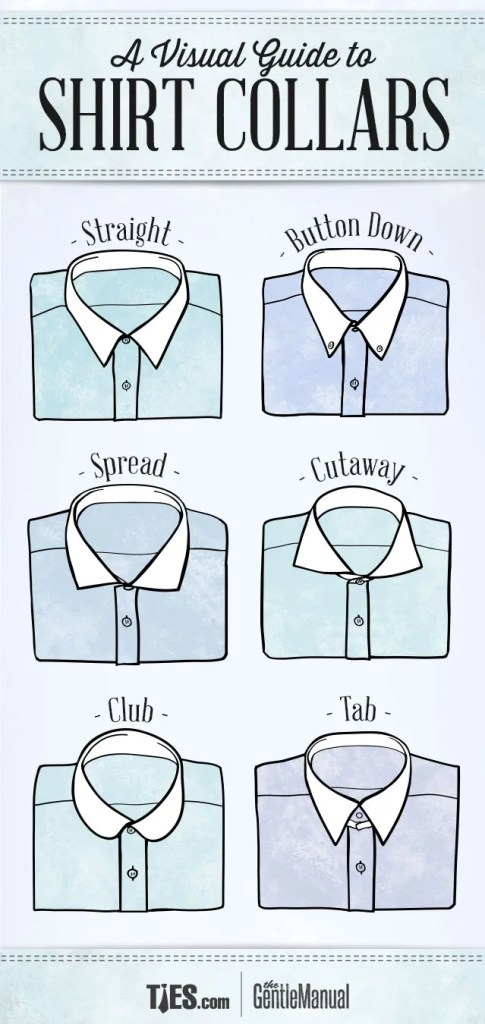 shirt collar styles
