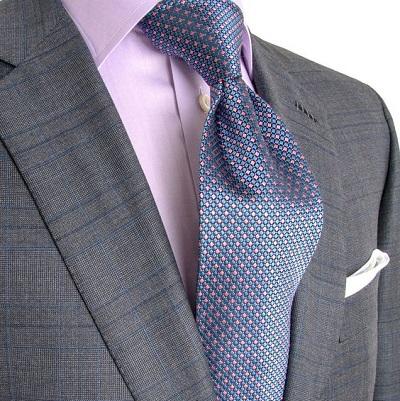 match shirt tie suit