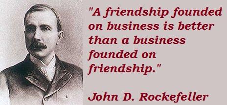 life lessons from John D Rockefeller