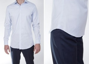 How to know whether or not to tuck in your shirt for Untucked dress shirt with tie