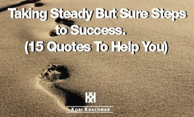 Steps To Success MrKoachman