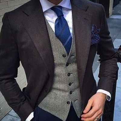 Three piece suit mix and match