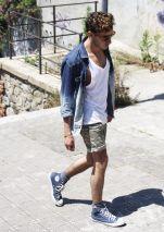 denim on shorts mr koachman