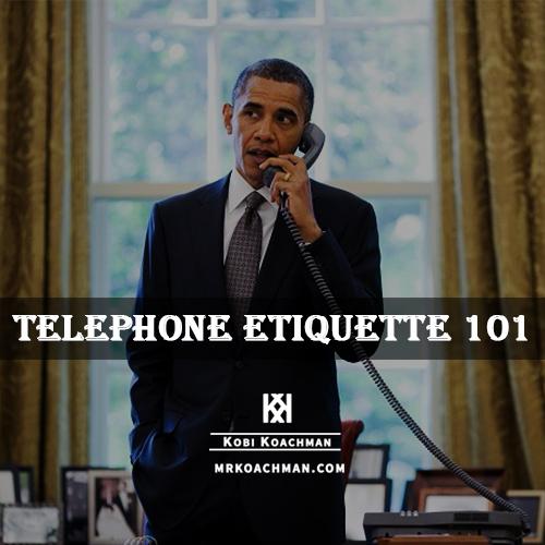 Proper Telephone Etiquette Every True Gentleman Should Know