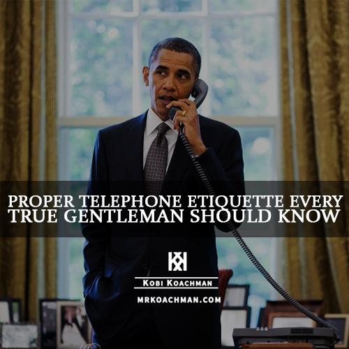 Proper Telephone Etiquette (2)
