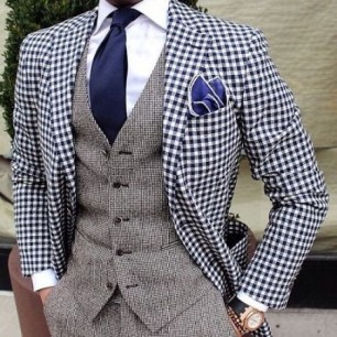suit buttoning rules - how to button a suit